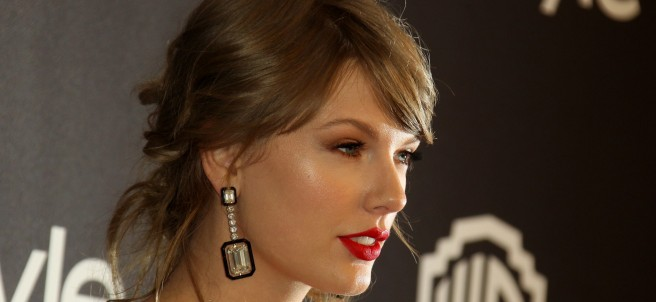 Taylor Swift  en la after party de los 'Golden Globes'