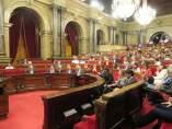 El Parlament rechaza una moción de Cs.