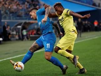 Zenit vs. Villarreal.