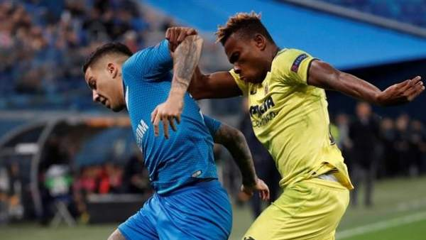 Zenit vs. Villarreal.