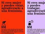 Pancartas par el Día de la Mujer / Cultura Inquieta