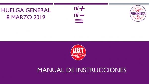 Instrucciones huelga 8 marzo