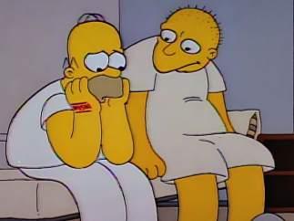 "Homer y ""Michael Jackson"""