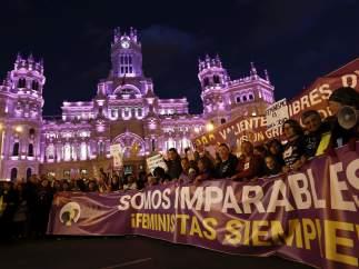 La huelga del 8 de Marzo en imágenes