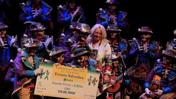 Cádiz.- La ONCE entrega los Premios 'Fermín Salvochea' a las letras más solidari