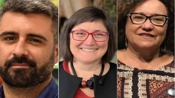 Pere Fuset, Sonia Tirado y Ali Brancal, los más votados en las primarias municip
