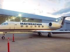 El avión privado y personalizado de Floyd Mayweather