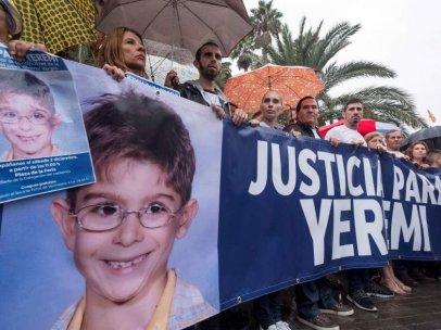 Protesta de la familia de Yéremi Vargas