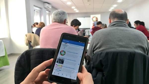 Málaga.- La aplicación móvil de La Noria supera el centenar de usuarios y 50 pro