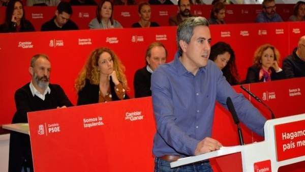 26M.- Zuloaga Asegura Que 'Las Urnas Se Llenarán De Votos Socialistas' Porque 'T