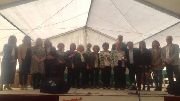 Jaén.- MásJaén.- Más de 200 mujeres de una veintena de municipios celebran el Dí