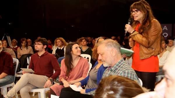 Presentación de los candidatos de Podemos de Euskadi al Congreso