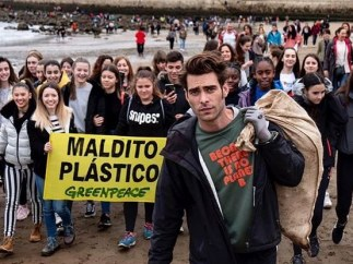 Jon Kortajarena colabora con Greenpeace