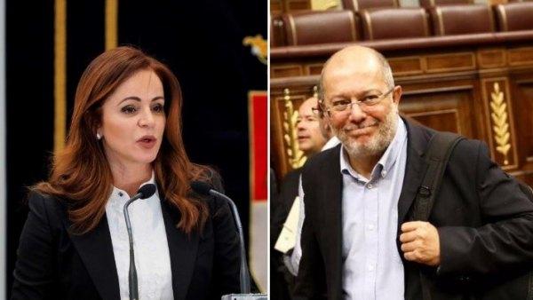 Silvia Clemente y Francisco Igea