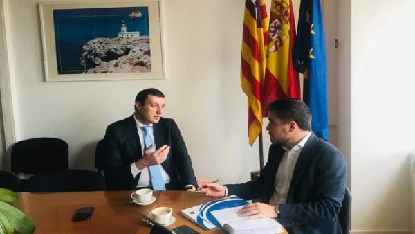 El Centro Baleares Europa y la Representación Permanente de Malta en Bruselas in