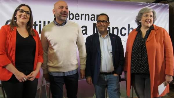 Molina y Crespo en la presentación de su confluencia