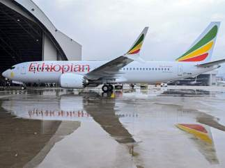 Boeing 737 Max 8 de Ethiopian Airlines