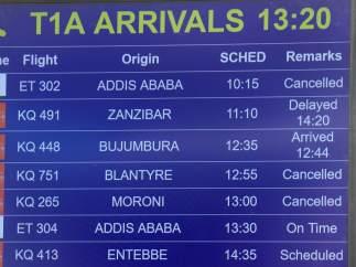 Vuelo siniestrado en Addis Abeba