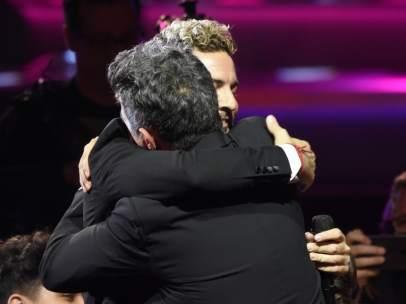 David Bisbal y Alejandro Sanz