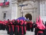 Procesión del Cristo de la Luz en Valladolid. Semana Santa. Recurso