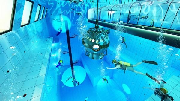 'DeepSpot' en Mszczonow, la piscina más profunda del mundo