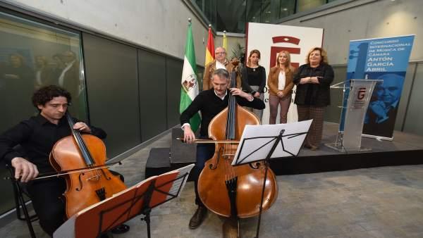 Granada.- El concurso 'Antón García Abril' afronta una nueva edición para foment