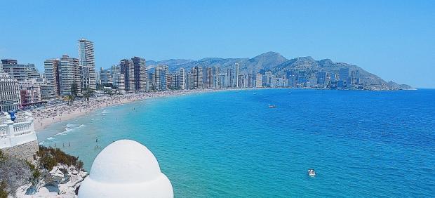 Vistas de Benidorm (Alicante)