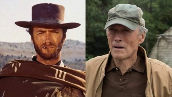 Clint Eastwood (Por un puñado de dóalres y Mula)