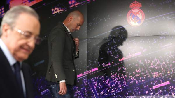 Zidane y Florentino