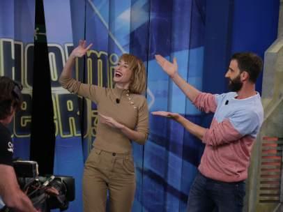 Ingrid García Jonsson y Dani Rovira visitaron 'El hormiguero'.