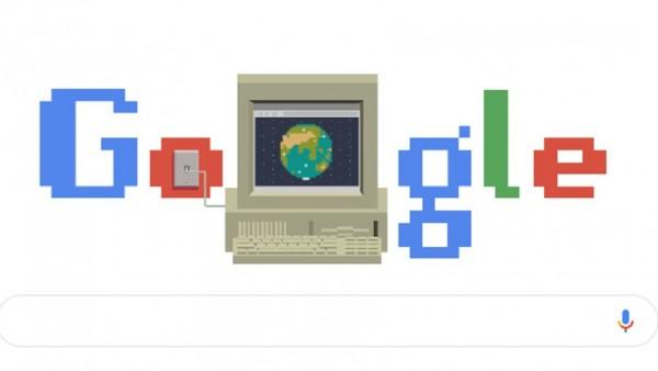 El 'doodle' de Google por el 30 aniversario de la Web