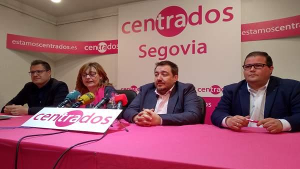 Centrados en Segovia anuncia a Javier Arranz como candidato al Congreso y a Davi