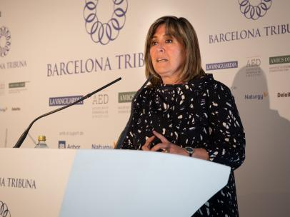 La alcaldesa del Hopitalet, Núria Marín (PSC).
