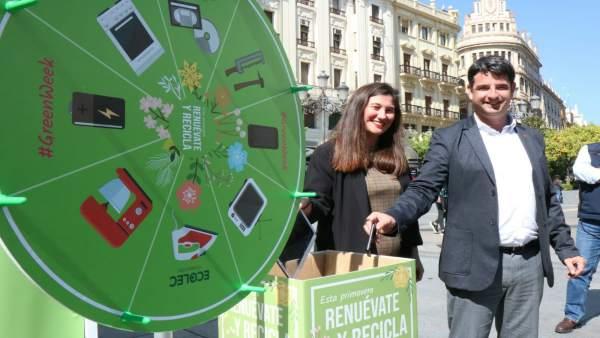 Córdoba.-La '#GreenWeek' de Ecolec llega a Córdoba con la implicación de Sadeco