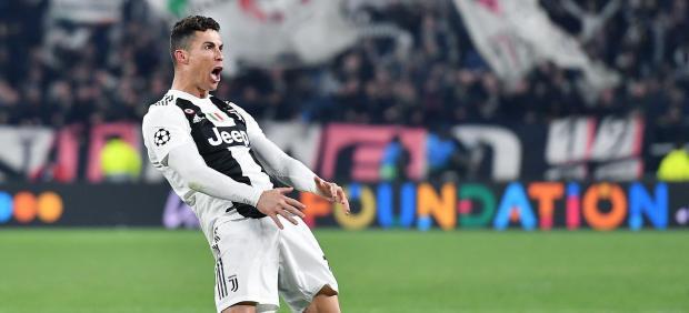 La UEFA multa a Cristiano Ronaldo por su gesto obsceno ante el Atlético de Madrid