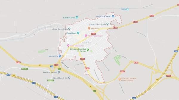 Localización de Ocaña