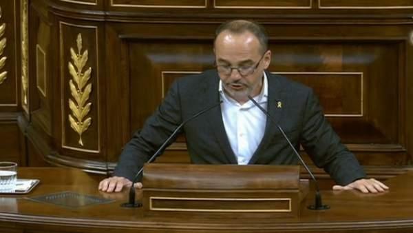 Intervención de Carles Campuzano en el Congreso