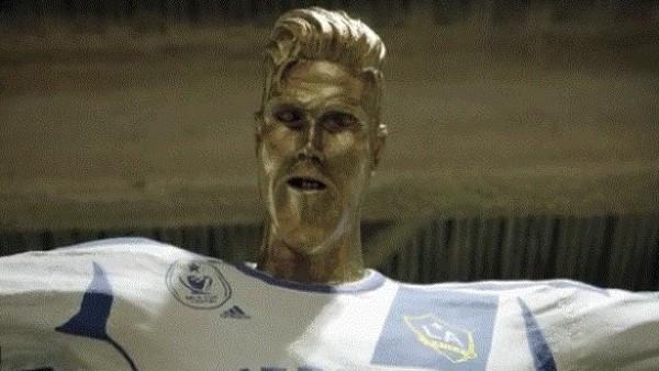 Estatua de Beckham