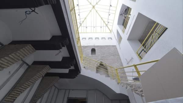 Las obras en el Palacio de Redín y Cruzat para adecuarlo como centro comunitario