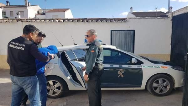 Jaén.-Sucesos.- Guardia Civil desarticula un punto de venta de droga en Martos t