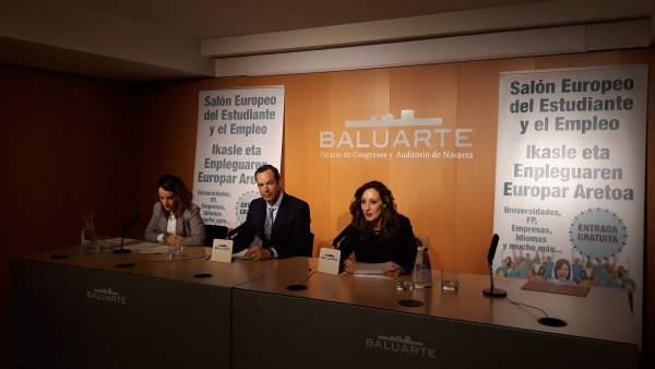 Baluarte acoge el 14 y 15 de marzo el XIII Salón del Estudiante y el Empleo