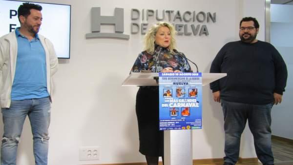 Huelva.- El Foro vuelve a acoger este verano la gala 'Los más grandes del Carnav