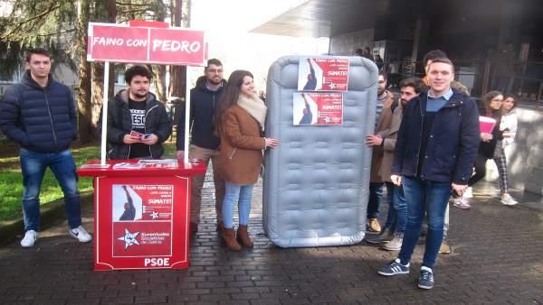 Xuventudes Socialistas paseará por Galicia 'el colchón de progreso' del PSOE en