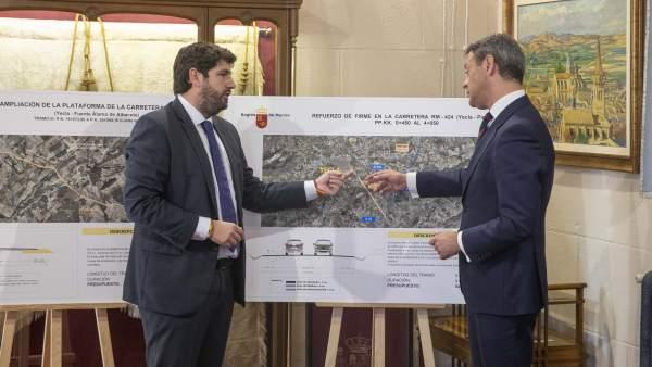 Consejo.- La Comunidad invertirá 4,1 millones para mejoras en carreteras de Yecl