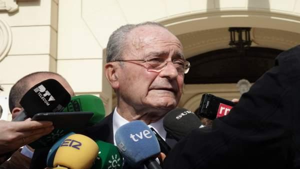 Málaga.- De la Torre valora el 'correcto' informe sobre imputación formal y dice
