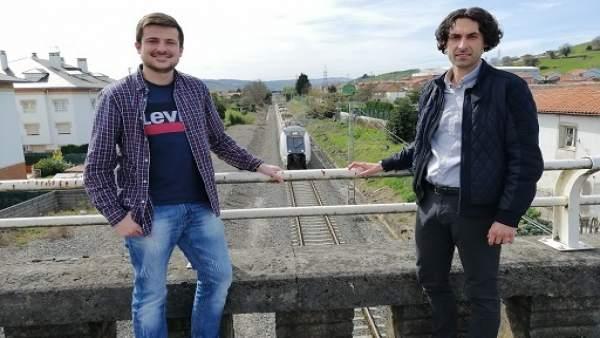 Cs pide a Fomento barreras acústicas en las vías del tren en Guarnizo