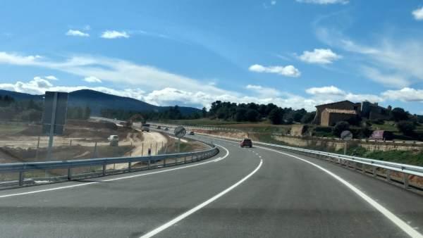 Fomento abre el tramo de la N-232, entre el límite con Castellón, y la intersecc
