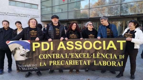 Profesores asociados de la UV expresan por carta a Puig y al Botànic su 'decepci