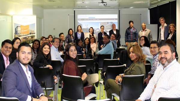 [Grupoalmeria] Ndp: El Pita Recibe Una Misión Internacional Con 40 Autoridades I