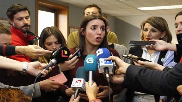 Encuentro 'Mulleres contra a precariedade' organizado por la Fundación ONCE en V